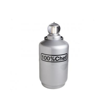 Contenedor de nitrógeno (10l), 100%Chef