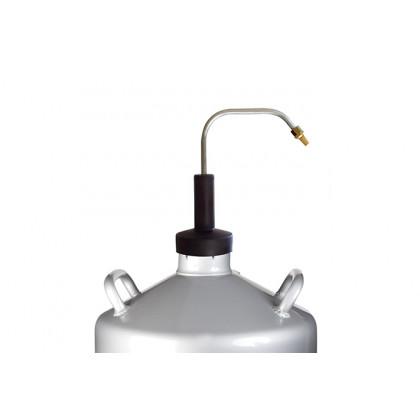 Transferidor nitrógeno Instant, para contenedores de 10, 20 y 30 litros, 100%Chef