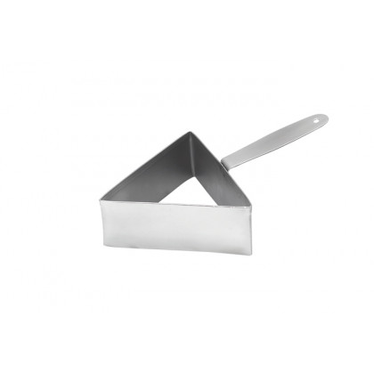 Aro de emplatado triangular XL (100mm), 100%Chef
