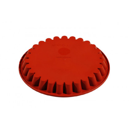 Molde de silicona FRT052 Redondo Estriado (Ø280h30mm) Formaflex Cake, Pavoni