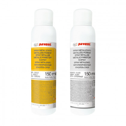 Spray Metalizado (150ml), Pavoni