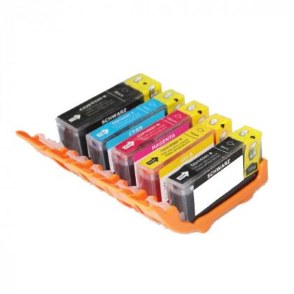 Kit Tintas Comestibles CP-550BK/CC-551BK-551M-551Y-551C para impresoras Canon