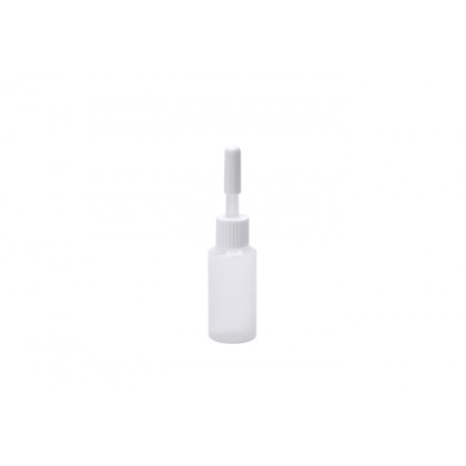 Micro biberón desechable con tapón 10ml (Ø20xh80mm), 100%Chef - 50 unidades