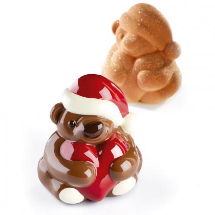 Kit KT166 Teddy (moldes para 2 figuras) Christmas, Pavoni