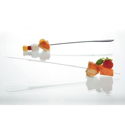Brocheta degustación Sphera negro (196cm), 100%Chef - 500 unidades