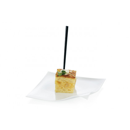 Pincho degustación Hola negro (83mm), 100%Chef - 1000 unidades