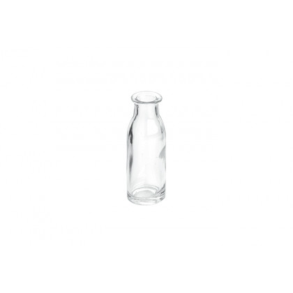 Mini botella de leche 40ml (Ø30x90mm), 100%Chef - 36 unidades