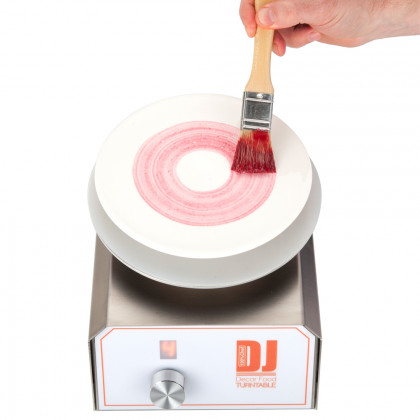 DJ Food Decor Turn Table (19x21x15cm), 100%Chef