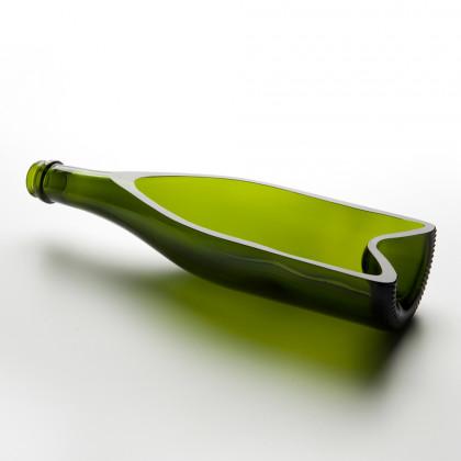 Plato Hondo Cava Verde (30x8x6cm), 100%Chef - 6 unidades