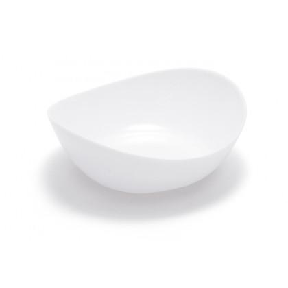 Plato hondo degustación Sphera blanco (80ml), 100%Chef - 100 unidades