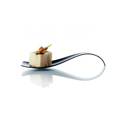 Cuchara degustación Hola negra (121mm), 100%Chef - 200 unidades