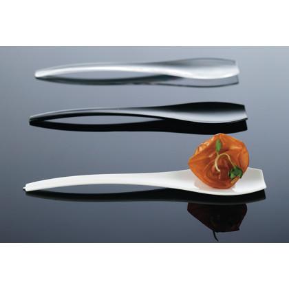 Cucharilla degustación Hola transparente (90mm) - 400 unidades, 100%Chef