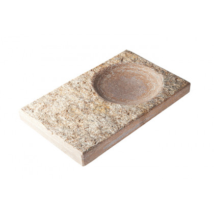 Fuente, plato de cuarcita (19x12x2cm), 100%Chef