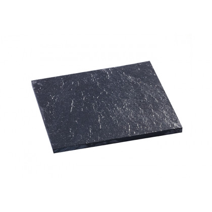 Pizarra mini fina (80x80x5mm), 100%Chef - 5 unidades