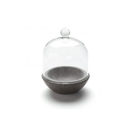 Planet 90ml, soporte de mármol con campana (Ø10x10cm), 100%Chef