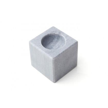 Cube, soporte de mármol para huevos (6x6x6cm), 100%Chef