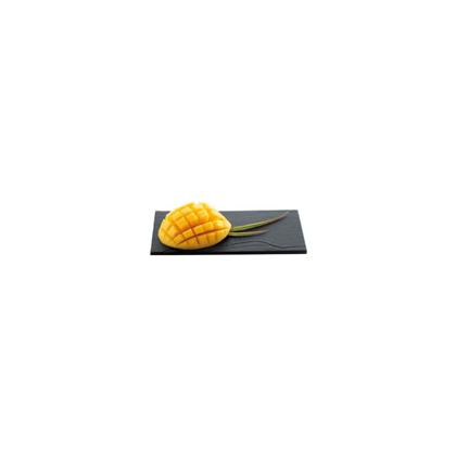 MINI BANDEJA / PLATO TEXTURA FALSA PIZARRA 180 x 90 x h.6mm