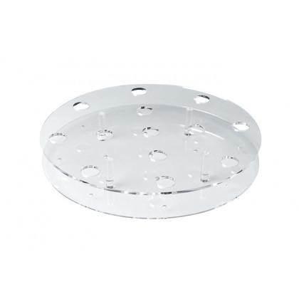 Portaconos circular plexiglás (Ø304xh32mm), 100%Chef