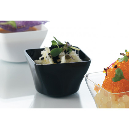 Vaso degustación Hola negro (50ml), 100%Chef - 120 unidades