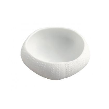 Plato de porcelana Erizo XXL (110ml), 100%Chef - 3 unidades