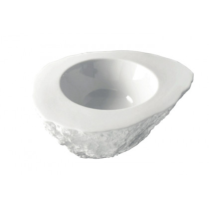 Plato de porcelana Roca XL (170ml), 100%Chef