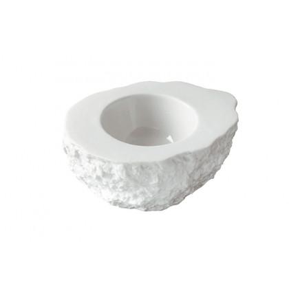 Plato de porcelana Roca XS (30ml), 100%Chef - 2 unidades