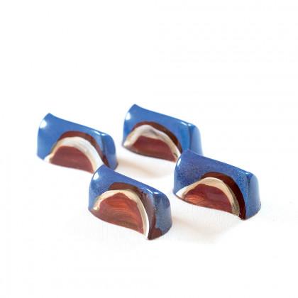 Molde de Policarbonato PC48 42x21h18mm (21 piezas) Bonbons, Pavoni