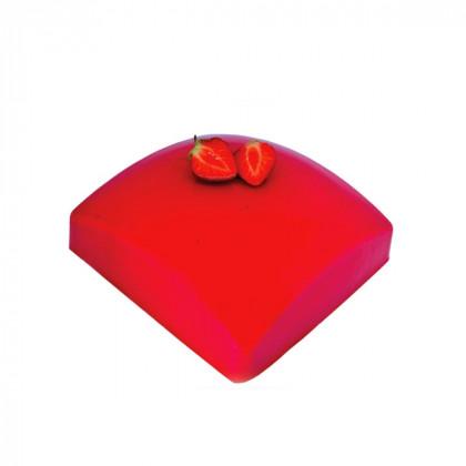 Molde de silicona Square Sphere 1200 (160x160h60mm) Tortaflex, Silikomart