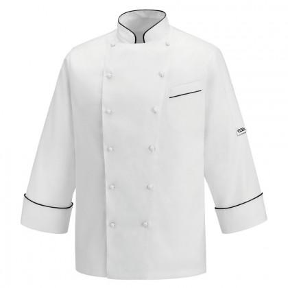 Chaqueta Chef Andrea Black Piping, Egochef
