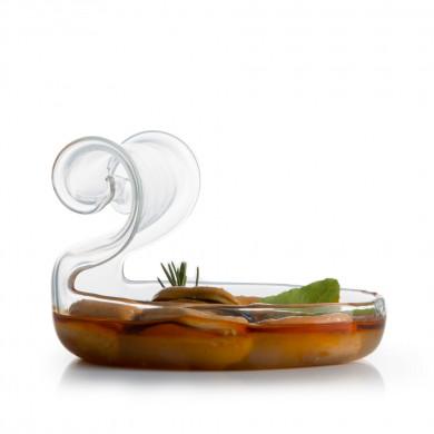 Lata Oval Vidrio (150 ml), 100%Chef