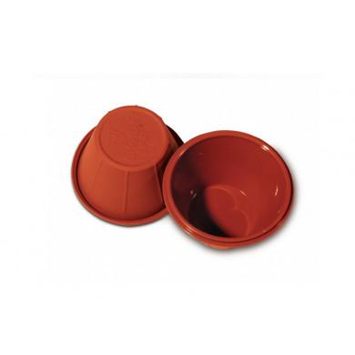 Molde de silicona SFT813 Flan (Ø78h48mm) BabyFlex, Silikomart