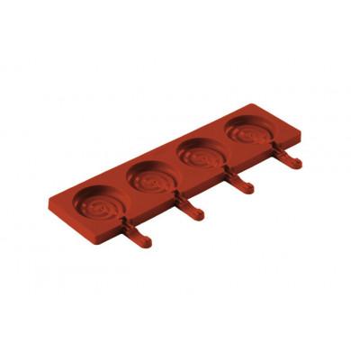 Set POP01 Lolli Pop (2 moldes + 50 sticks) EasyPop, Silikomart