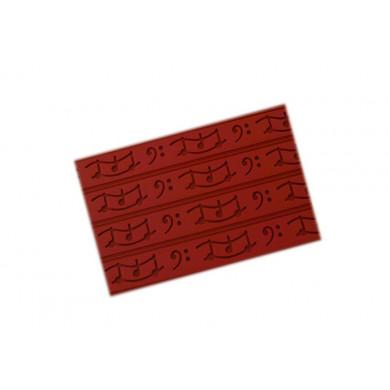 Tapete de decorativo RELIEF05 Música (400x600h3mm) Tapis Relief, SilikoMart