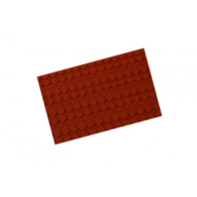 Tapete de decorativo RELIEF06 Ajedrez (400x600h3mm) Tapis Relief, SilikoMart