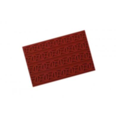 Tapete de decorativo RELIEF10 Greca Cuadrada (400x600h3mm) Tapis Relief, SilikoMart