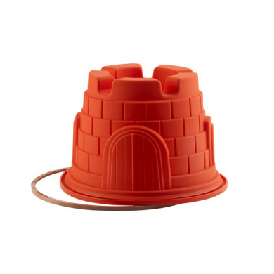Molde de silicona SFT321 Castillo (Ø200h140mm) UniFlex, Silikomart
