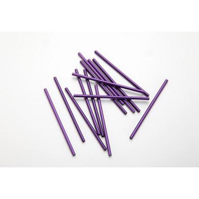 Palito Lollipop púrpura (Ø3x100mm), 100%Chef - 1000 unidades