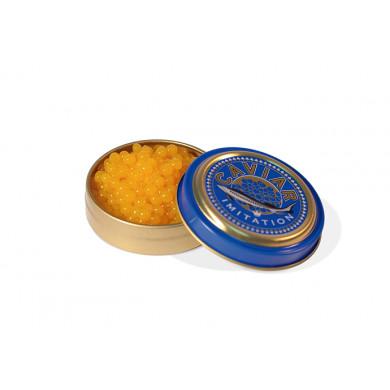 Latas de caviar Imitation 30ml (Ø75x20mm), 100%Chef - 12 unidades