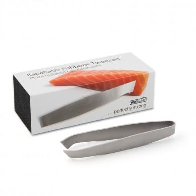 Pinza Quitaespinas Kapabashi Retail Box (15cm), 100%Chef