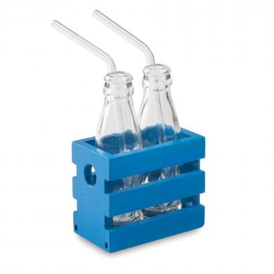 Caja Lesvos S azul Egeo (8,5x5x7cm), 100%Chef