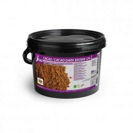 Cacao en Polvo Dark Brown 12% (2,5kg), Sosa