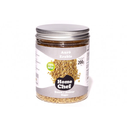 Azúcar de Arce Granulado (200g), Home Chef