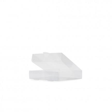 Mini pizza box Transparente