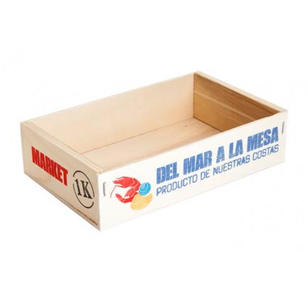 Caja Marisco Impresa (21x13x5cm), 100%Chef - 8 unidades
