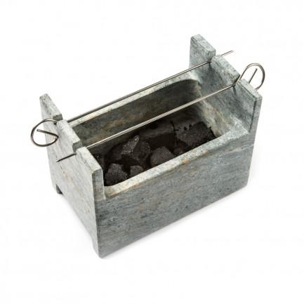 BBQ Charcoal Grill (20x13x15cm), 100%Chef