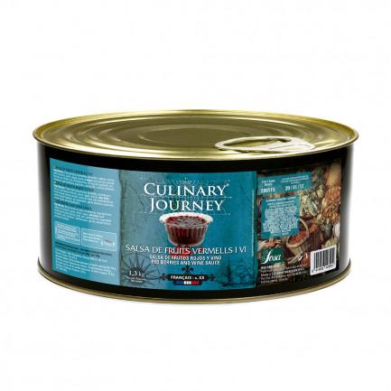 Salsa de Frutos Rojos y Vino (1,3kg), Culinary Journey