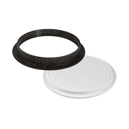 Kit molde para tarta redondo ø210mm, Silikomart