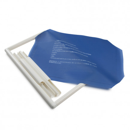 Tela rectangular SerigraFood personalizada (28x43cm), 100%Chef