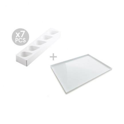 Multiflex gota 125/7 - (set 7 piezas), Silikomart