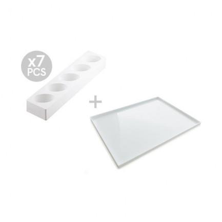 Multiflex oval 125/7 (7 piezas), Silikomart